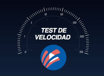 Test velocidad Megacable